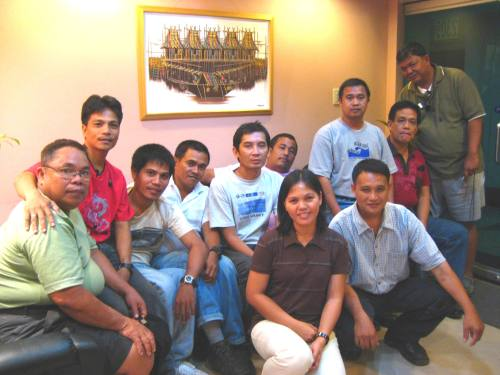 The FMC and LMDA teams at PACAP Main Office