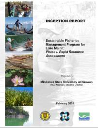 Sustainable Fishery Program for Lake Mainit Phase I