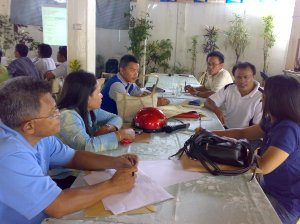 LGU and government line agencies during the workshop