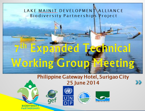 7th ETWG meeting