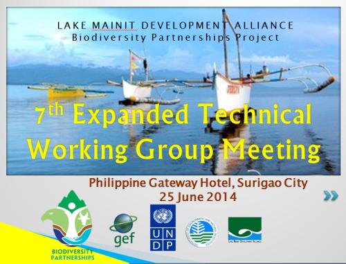7th ETWG meeting