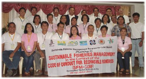 Sustainable Fishery Mgt. Training